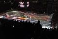 Das Eis wird bei der Eishockey-WM 2017 vor dem Spiel U.S.A. - Deutschland (1:2) bereitet.