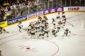 kurz vor dem Spiel U.S.A. - Deutschland (1:2) bei der Eishockey-WM 2017 in Köln