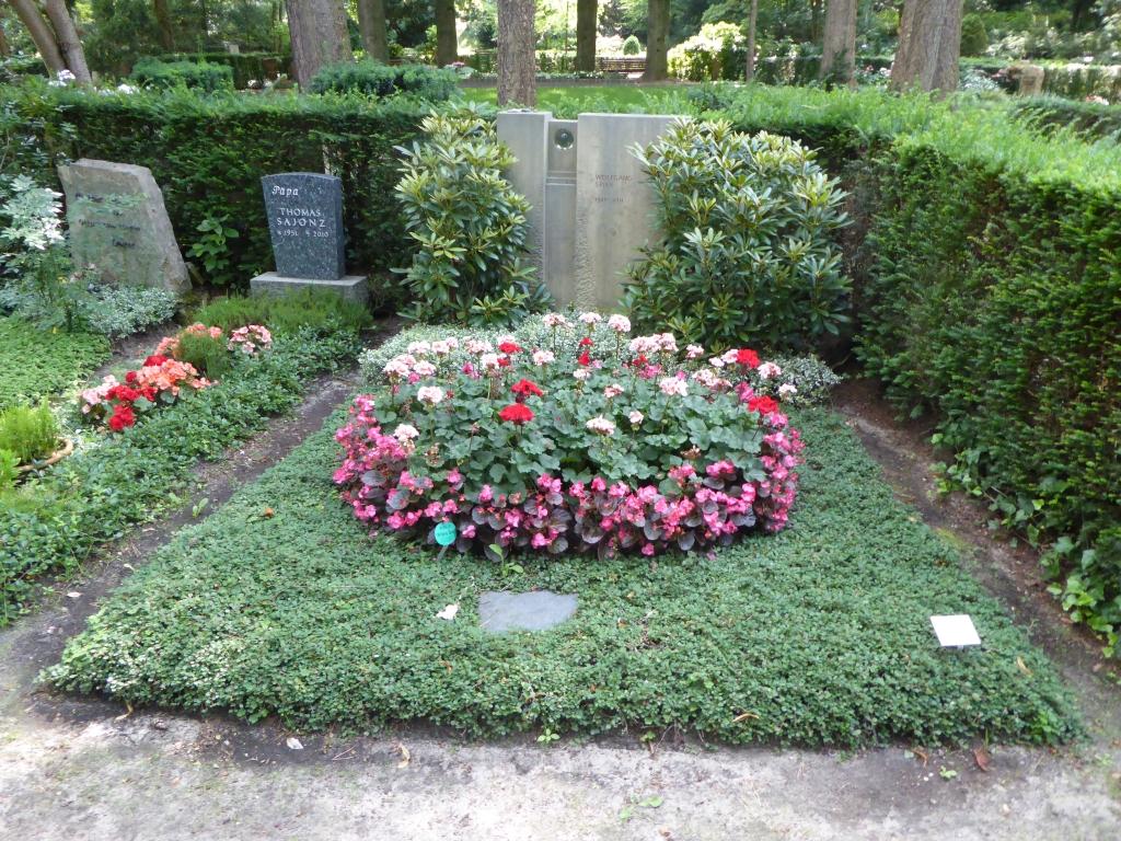 Grab von Wolfgang Spier auf dem Waldfriedhof Heerstraße in Berlin
