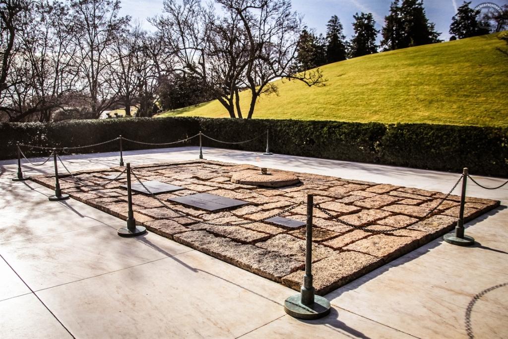 Grab von John F. Kennedy auf dem Arlington National Cemetery