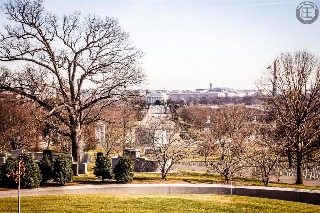 Blick auf Washington, D.C.