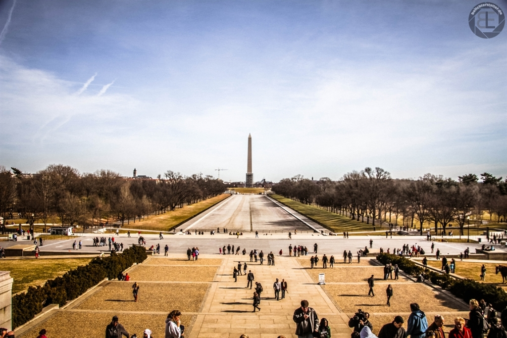 The Mall und Reflecting Pool in Washington, D.C.