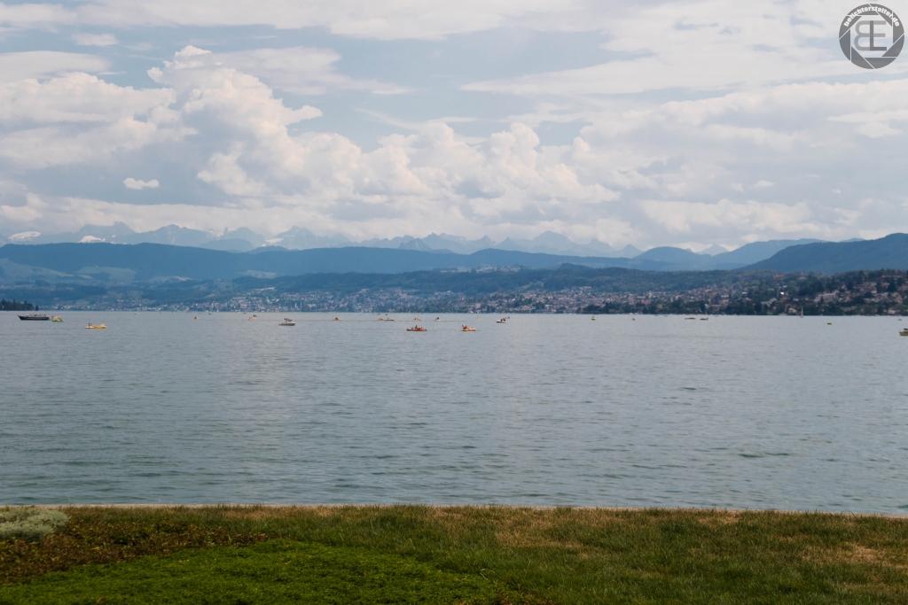 Zürich im August 2018: Zürichsee