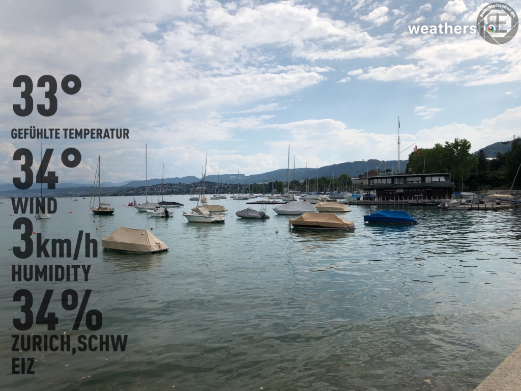 Zürich im August 2018 (iPhone-Bild)