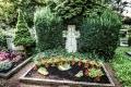 Grab von Hennes Weisweiler auf dem Friedhof Lechenich