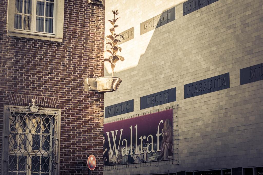 Wallraf-Richartz-Museum am 25.04.2020