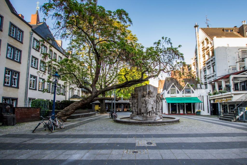 Ostermannplatz in Köln am 25.04.2020
