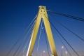 Severinsbrücke in Köln am 25.04.2020