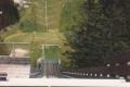Blick von der Langenwaldschanze in Schonach 1989