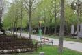 Bushaltestelle auf dem Wiener Zentralfriedhof