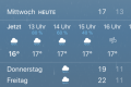 Wetter in Wolfsburg am 26.08.2020